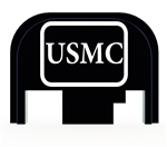 USMC slide back plate for Glock