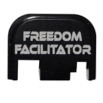 Freedom Facilitator back plate for Glock
