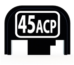 45 ACP back plate for Glock