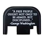 A FREE PEOPLE OUGHT NOT ONLY TO BE ARMED, BUT DISCIPLINED