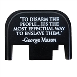 To disarm the people...[I]s the most effectual way to enslave them