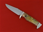 Woolly Mammoth tusk handle knife