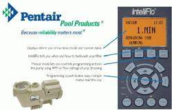 Pentair Intelliflo Pool Pump VS+SVRS 011057