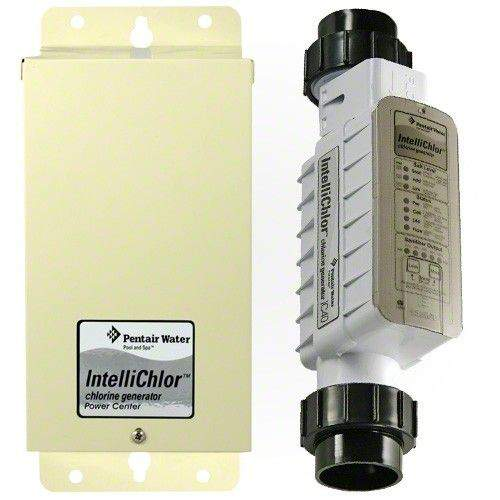 Pentair Intellichlor IC60 Salt Water System 521105 and 520556
