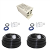 Pentair GloBrite 620081 2 Led Combo Kit 100'cord - Transformer - 2 Vinyl Niche