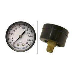 Pool Filter Pressure Gauge Back Mount 80860BU