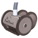 Poolvergnuegen 4 Wheel Suction Pool Cleaner Grey