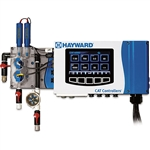 Hayward CAT 6000 with Free Chlorine Sensor, Temp, Cond, NaCl, Wi-Fi, Machined Flow Cell & RFS
