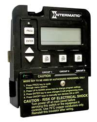 Intermatic 3 Circuit Electronic Timer Model P1353ME