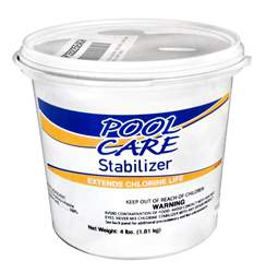 Pool Care Chlorine Stabilizer & Conditioner 4lbs