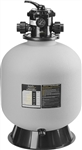 Jandy SFTM24-2.0 Top-Mount Sand Filter, 25 inch Tank, w/1.5 inch 7-position BW Valve
