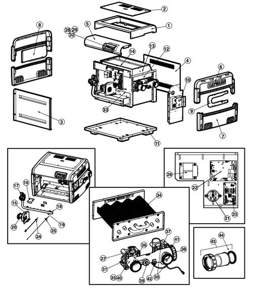 hayward heaters h series wiring diagram