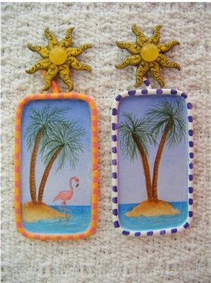 Tropical Fun Pin Kit