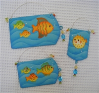 Tropical Fish Ornaments