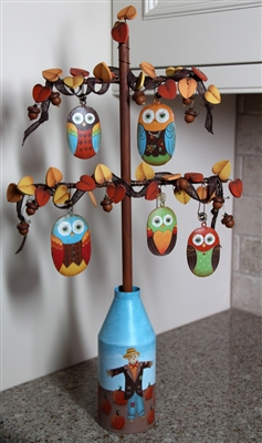 Fall Owl Tree