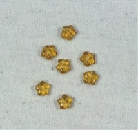 Small Gold Star Beads