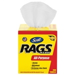 Kimberly Clark 75260 Scott Rags In A Box Pop Up 10X13 White