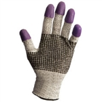Kimberly Clark 97431 KleenGuard G60 Purple Nitrile Cut Resistant Gloves, Case of 12 Pairs