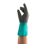 Ansell 58-530-10 Alpha-Tec, Nitrile Coated Gloves, Size 10, Pack of 12 Pairs