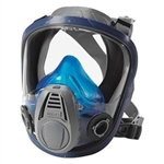 MSA 10028997 Advantage 3200 Full Face Respirator, Rubber, Twin Port, Size Large