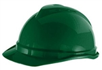 MSA 10034032 V-Gard 500 Cap Green Vented - 6-Point Fas-Trac III