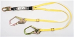 MSA 10113163 Workman Lanyard, Twin Leg Adj Ansi Only
