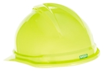 MSA 10074819 V-Gard 500 Cap Hi-Viz Yellow-Green Vented - 4-Point Fas-Trac III