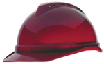 MSA 10034022 V-Gard 500 Cap Red Vented - 4-Point Fas-Trac III
