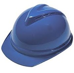 MSA 10034028 V-Gard 500 Cap Blue Vented - 6-Point Fas-Trac III