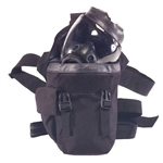 MSA 10034184 GAS MASK POUCH BLACK NYLON