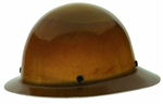 MSA 454664 Skullgard Protective Full Brim Hard Hat with Staz-On Suspension, Natural Tan