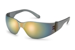 Gateway 461M Starlite Safety Glasses Grey Temple Red Mirror 1/Pr
