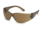 Gateway 4687 Starlite Safety Glasses Brown Temple,Mocha A/F 1/Pr
