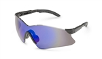 Gateway 14Gb9M Hawk Black Frame Blue Mirror Lens