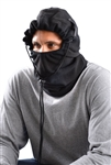 Occunomix 1070E Winter Liner 3 In 1 Balaclava Plush Fleece Black Ea