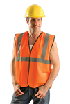 Occunomix Eco-G-Os/M Safety Vest Class Ii Hi-Viz Orange Sml/Med