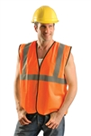 Occunomix Eco-G-O2/3X Safety Vest Class Ii Hi-Viz Orange 2Xl/3Xl