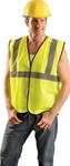 Occunomix Eco-G-Y2/3X Safety Vest Class Ii Hi-Viz Yellow 2Xl/3Xl