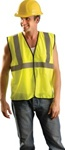Occunomix Eco-Gc-Y-S/M Occulux Economy Mesh Vest S/M Yellow
