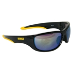 Radians Dpg94-Yd Dewalt Dominator Safety Glass Yellow Mirror Lens