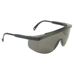 Radians Gx0120Id Galaxy Safety Glasses Smoke/Black Frame