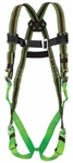 "Honeywell - North Safety E650-77/UGN Friction Buckle Shoulder Straps, Tongue Buckle Leg Straps, 6"" Attached Comfort Back Pad, Side D-Rings Attached To Pad, And Removable Waist Belt - Universal"