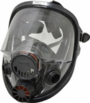Honeywell - North Safety 760008A Dual Cartridge M/L Silicone Full Facepiece Respirator