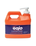 Gojo 0958-04 Natural Orange Pumice Hand Cleaner W/Pump Disp .5-Ga