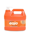 Gojo 1-Gal Orange Lotion Hand Cleaner W/Pump Disp 4/Cs
