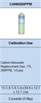 Macurco CANN200PPM Carbon Monoxide CO Calibration Gas Cannister, 17L 200 ppm 70-0714-0348-2