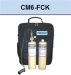 Macurco CM6-FCK CM-6 / CM-12 Carbon Monoxide CO Field Calibration Kit, 17L 50 ppm, 17L 200 ppm, 0.2 LPM Reg. 70-0714-8630-5