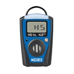 Macurco HS-1XL Hydrogen Sulfide H2S Single-Gas Monitor with STEL, TWA, Replaceable Battery & Sensor 70-0714-0208-8