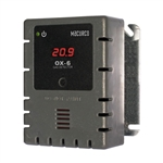 Macurco OX-6 WHITE Oxygen O2 (Low Voltage) Fixed Gas Detector Controller Transducer w/ White Housing 70-2900-0048-9