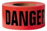 "Presco Products Co 16000 Tape, 3""X1000' Caution 2Mil Yellow Barricade (By3102Y16)"